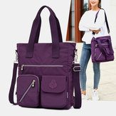 Women Large Capacity Nylon Handbag Crossbody Bag