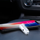 Baseus 30W Dual QC3.0 Quick Charging Car Charger For iPhone X XS Mi9 S10+ Note 10