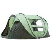 Outdoor Grote tent Waterdicht UV Familietent Auto Setup Camping Zonopvang