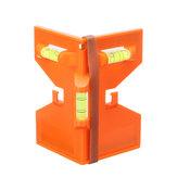Drillpro Carpintería Plegable Medidor Regla de ángulo Cilindro Nivel magnético