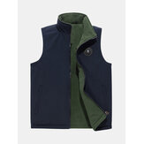 Double-sided Wearable Fleece Lined Casual Vest