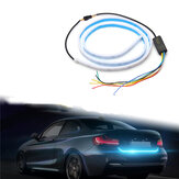Flow LED Car Vehicle Rear Trunk Tailgate Turn Signal Lamp Tail Brake Light Strip