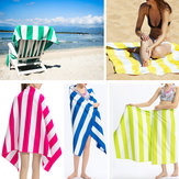 Microfibre Beach Towel Lightweight Camping Travel Quick Dry Absorbent Bath Towel