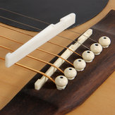 Debbie XZ-A1 Buffalo Bone Bridge Saddle And Nut for Acoustic Guitar
