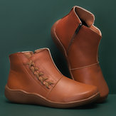 Women Large Size Slip Resistant Comfy Ankle Boots