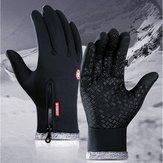 Motorfiets Waterdicht Dik Warm Warm Antislip Heren Dames Winter Buitensporten Handschoen