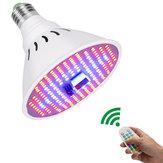 100W 204LED Plant Croissant Lumière Spectre Complet Augmente la Lampe Télécommande Intérieure