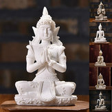 Sitting Thai Statue Sculpture Outdoor Indoor Statue Ornament Home Decorations