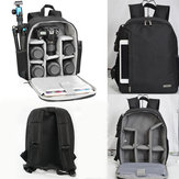 Outdoor Waterproof Backpack Rucksack Camera Bag For Canon Sony Nikon Camera