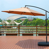 100x195x160cm Waterproof Sunshade Beach Umbrella Fabric Cloth Canopy Parasol Tent Cover