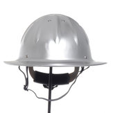 Full Brim Construction Hard Hat Safety Helmet Protection Lightweight Aluminum
