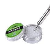 20g Solda Iron Tip Cleaner Tinner Refresher Solda Pasta de Óxido de Ferro para Ressurreição de Cabeça de Ponta de Ferro de Solda Solda Acessório