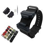 Montre de rechange Bakeey 22mm Nylon avec bracelet Bande avec kit de conversion en TPU et broches pour Casio G-SHOCK GA-110 DW-5600 GLS GA