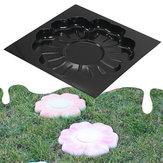 DIY Çok fonksiyonlu Plastik Parke Yol Maker Kalıp Çiçek Stepping Taş Çimento Tuğla Kalıp