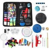 Ciseaux de fil d'aiguille de cas de kit de couture à la maison de voyage portable petit