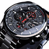 Orologio Forsining GMT1137 Week Month Display Meccanico