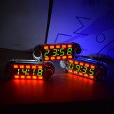 Geekcreit® Kit orologio multifunzione fai-da-te a tubo digitale multicolore con retroilluminazione diversa