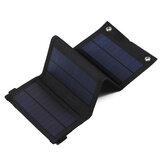 30W 5V Faltbares Sunpower Solarpanel-Ladegerät Solar Power Bank USB-Rucksack Camping Wandern