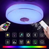 36W Modern RGB 60 LED Ceiling Light bluetooth Speaker Lamp APP Remote Control