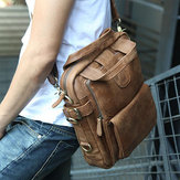 Ekphero Men Casual Multifunction Business Crossbody Bag Shoulder Bag