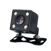 Car Rear View CCD Reversing Camera With Bracket Harness Kit Waterproof 170°