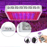130LED Dimmable Grow Light Full Spectrum Veg Plant Lamp Timing Remote