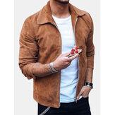 Chemise à manches longues Style de rue Style Homme