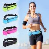 Sac de téléphone de sac de taille de sports pour des sports en plein air courant Jogging Escalade