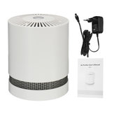 Negative Ion Air Purifier HEPA Filter Desktop Air Cleaner For Home Office Car