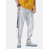 Erkek Trend Gevşek Sokak Hip-Hop Işın Ayak Gelgit Spor Pantolon