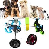 Cat Cachorro Cadeira de Rodas Desabilitada Ferramentas de Treinamento para Caminhadas com Tração para Deficientes Cachorrogie XXS