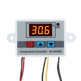 XH-W3000 Micro Digital Thermostat High Precision Temperature Control Switch Heating and Cooling Accuracy 0.1