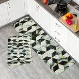 Tappetino da cucina antiscivolo tappetino lavabile porta casa bagno tappeto runner 75-180 cm