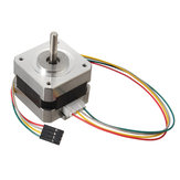 2 stks 42mm 12V Nema 17 tweefasige stappenmotor voor 3D-printer