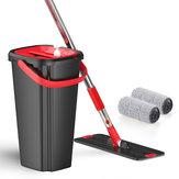 Zestaw mopów i wiader z płaską podłogą System czyszczenia bez użycia rąk System czyszczenia i czyszczenia prania w domu