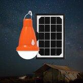 Solarpanel USB wiederaufladbare Camping Birne Fernbedienung wasserdichte Outdoor-Notbeleuchtung 3 Modi