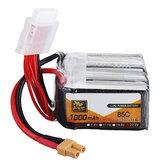 ZOP Power 22.2V 1000mAh 85C 6S Lipo-batterij XT30 Plug voor FPV Racing Drone