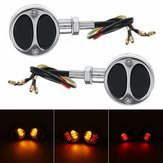 Motorcycle Bullet Turn Signals Tail Lights For Harley Cafe Racer Bobber Chopper