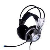 SOMiC G955 40 mm Głośnik Virtual 7.1 Surround USB Gaming Luminous Headset Headset With Microphone for Computer Profession Gamer