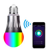 85-265V E27 7W WiFi RGBW LED Ampoule intelligente fonctionne avec Alexa Google Home Nest