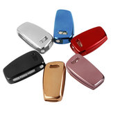 Full-Protective TPU Remote Key Cover Fob with Keypad Film For Audi A1 A3 A4 S3 S4 S5
