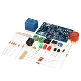 3szt. Elektroniczny zestaw do samodzielnego montażu Czujnik MQ-3 Detektor alkoholu Tester Zestaw elementów systemu alarmowego Suite