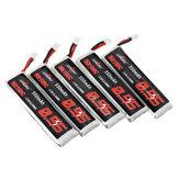 5個URUAV 3.8V 550mAh 50 / 100C 1S HV 4.35V PH2.0 Emax用LipoバッテリーTinyhawk Kingkong / LDARC TINY Tinyhawk S Eachine Trashcan