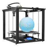 Creality 3D® Ender-5 Plus 3D-printersæt 350 * 350 * 400 mm Stor udskriftsstørrelse Support Auto Bed Leveling / CV print / Filament Run-out Detection / Dual Z-Axis / 4.3 inch Display