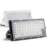 50W Czerwona / zielona / niebieska lampa LED Flood Light Wodoodporna zewnętrzna lampa ogrodowa AC220V