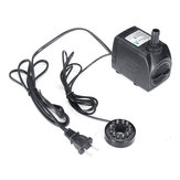 8W/10W//25W Submersible Pump Fountain with 12 RGB Color led Light Flow Adjustable for Aquarium Pond Fountain Fish Tank Water Aquarium Air Pump Hydroponic Electric Water Feature Pump