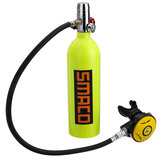 SMACO 1L Scuba Oxygen Cylinder S400 Diving Air Tank Diving Respirator Ventil Relief Ventve Kit