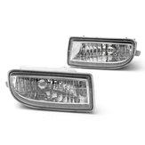 Abbina i fendinebbia per la guida anteriore chiara per auto lampada con 9006 lampadine 55W per Toyota Land Cruiser 1998-2007