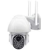 Guudgo 47 LED 1080P 2MP IP Cámara al aire libre Velocidad Dome Inalámbrico Wifi Seguridad IP66 Impermeable Cámara Pan Tilt 4XZoom IR Red CCTV Vigilancia