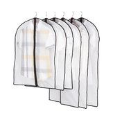 Plastic Clothing Covers Clear Dust-proof Cloth Cover Suit Dress Clothes Bag Storage Protector